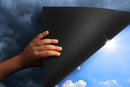 Revealing Blue Sky